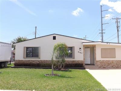 West Miami Single Family Home For Sale: 6180 SW 17th St