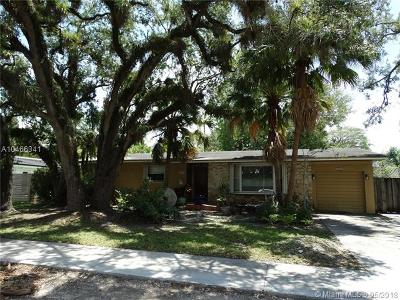 South Miami Single Family Home For Sale: 6480 Sunset Dr