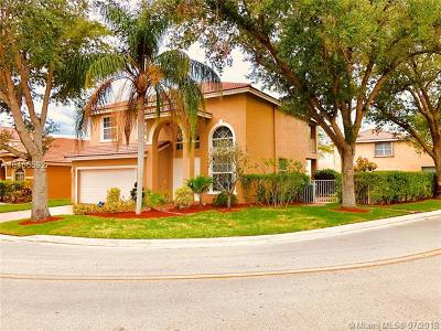 Coral Springs Single Family Home For Sale: 11523 NW 6th Ct