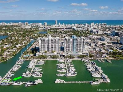 Miami Beach Residential Lots & Land For Sale: 1928 Sunset Harbour Dr - Slip D94
