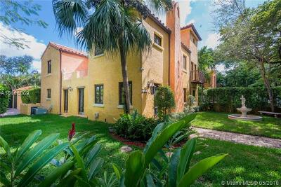 Coral Gables Single Family Home For Sale: 1103 Ferdinand St