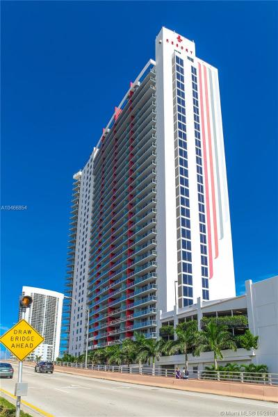 Hallandale Condo For Sale: 2602 SE Hallandale Beach Blvd #R805