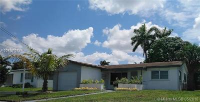 Lauderdale Lakes Single Family Home For Sale: 3362 NW 33rd Ave