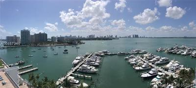 Miami Beach Condo For Sale: 1800 Sunset Harbour Dr #1206