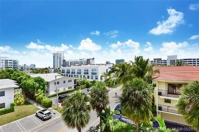 Bay Harbor Islands Condo For Sale: 1140 101st St #402