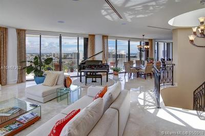 Aventura Condo For Sale: 2000 Island Blvd #PH 6