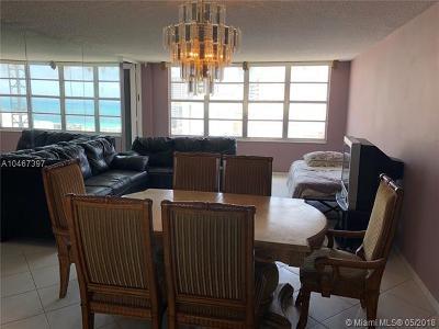 Miami Beach Condo For Sale: 5401 Collins Ave #811