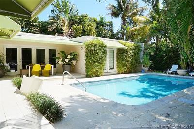 Miami Beach Single Family Home For Sale: 5251 La Gorce Dr
