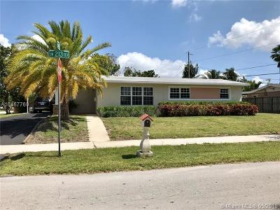 Cutler Bay Single Family Home For Sale: 10065 SW 213th Ter