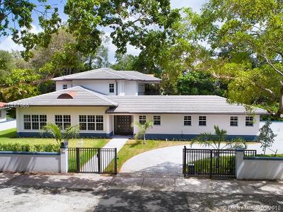 Coral Gables Single Family Home For Sale: 1101 Sunset Rd