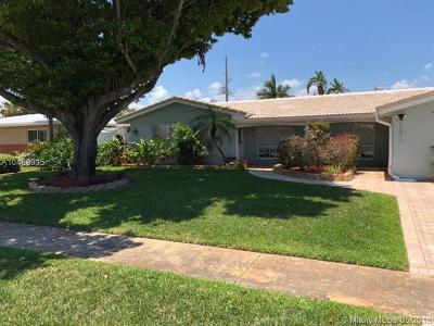 Fort Lauderdale Single Family Home For Sale: 5811 NE 22nd Ter