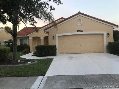 Pembroke Pines Single Family Home For Sale: 16313 SW 8th St