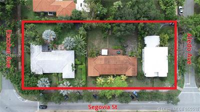 Coral Gables Residential Lots & Land For Sale: 3520 Segovia St