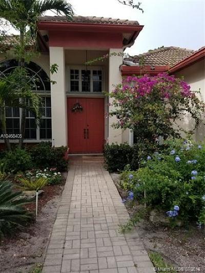 Davie Single Family Home For Sale: 3010 Hidden Hollow Ln