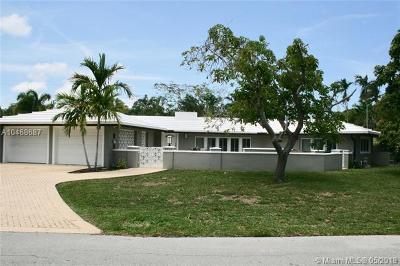 Fort Lauderdale Single Family Home For Sale: 2633 NE 29th St