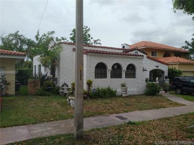 Coral Gables Single Family Home For Sale: 124 Cadima Ave