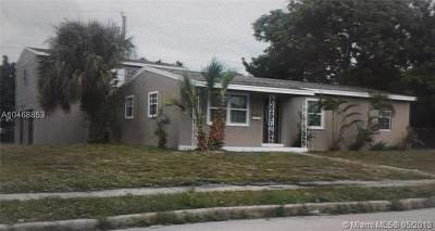 West Palm Beach FL Single Family Home For Sale: $149,999