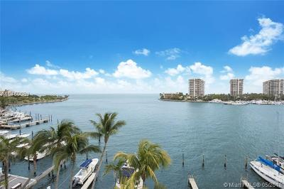 Coconut Grove Condo For Sale: 1600 S Bayshore Ln #6A