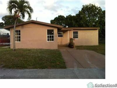 Fort Lauderdale Single Family Home For Sale: 1150 NW 9th Ter