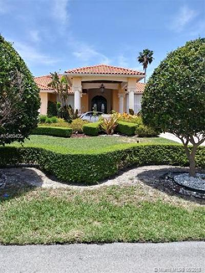 Miami Single Family Home For Sale: 12981 SW 27th St