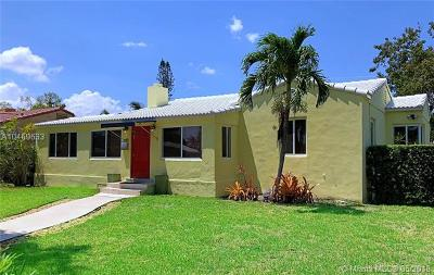 Miami Shores Single Family Home For Sale: 49 NE 110th St