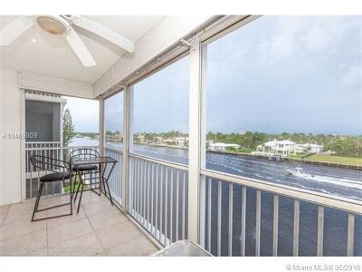 Pompano Beach Condo For Sale: 303 N Riverside Dr #505