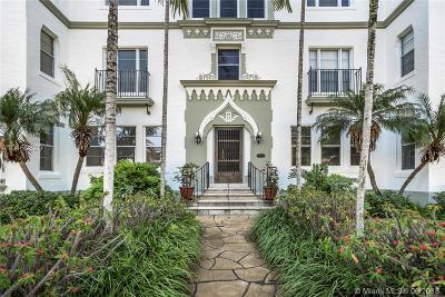 Miami Beach Condo For Sale: 4501 Prairie Ave #1