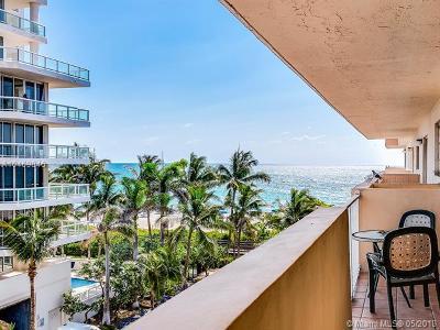 Miami Beach Condo For Sale: 4141 Collins Ave #507