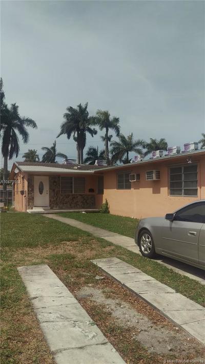 North Miami Multi Family Home For Sale: 455 NE 140th St