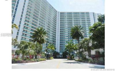 Sunny Isles Beach Condo For Sale: 100 Bayview Dr #327