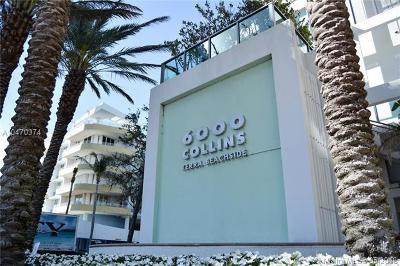 Miami Beach Condo For Sale: 6000 Collins Ave #305