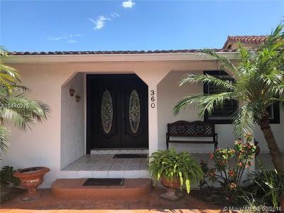 Hialeah Single Family Home For Sale: 360 E 37th St