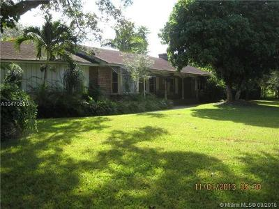 Homestead Single Family Home For Sale: 29775 SW Krome Ave