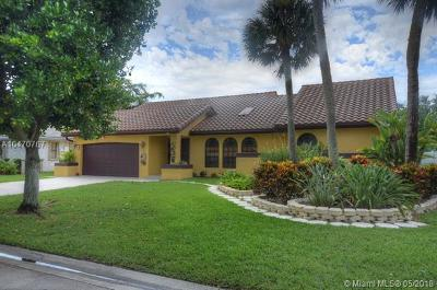 Coral Springs Single Family Home For Sale: 5163 NW 58th Ter