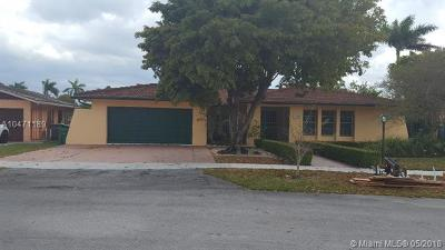 Single Family Home For Sale: 12450 SW 25