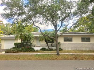 Coral Gables Single Family Home For Sale: 1245 Milan Ave
