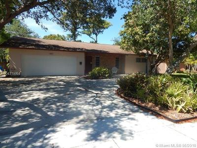 Fort Lauderdale Single Family Home For Sale: 3251 Riverland Rd