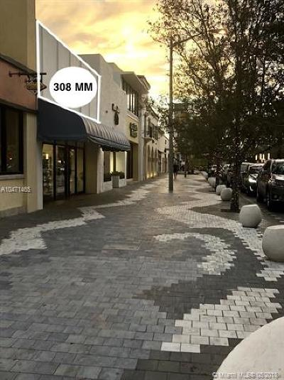 Coral Gables Commercial For Sale: 308 Miracle Mile