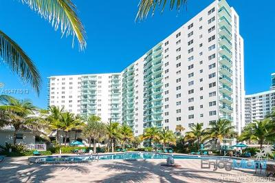 Hollywood Condo For Sale: 3901 S Ocean Dr #11S