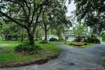 Pinecrest Single Family Home For Sale: 6320 SW 110 St