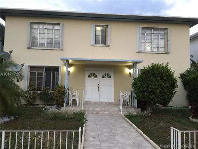 Miami Beach Multi Family Home For Sale: 7345 Dickens Ave
