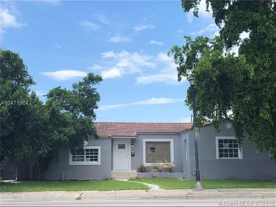 Miami Shores Single Family Home For Sale: 9425 N Miami Ave