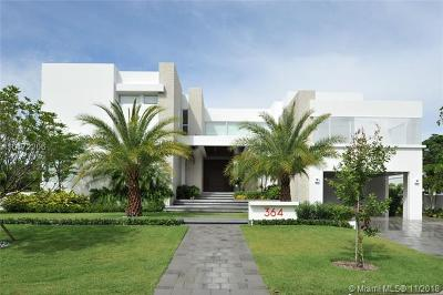 Key Biscayne Single Family Home For Sale: 364 Gulf Rd