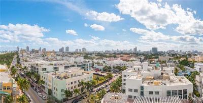 Miami Beach Condo For Sale: 1500 Ocean Dr #1009