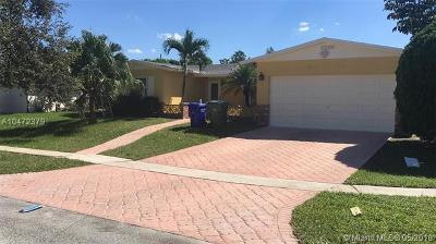 Pembroke Pines Single Family Home For Sale: 9430 NW 18th St