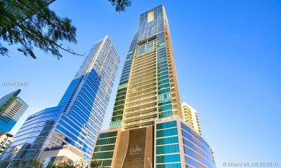 Miami-Dade County Condo For Sale: 1451 Brickell Ave #3001