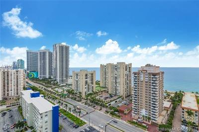 Hallandale Condo For Sale: 1945 S Ocean Dr #2009