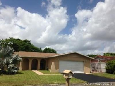 Single Family Home For Sale: 7550 SW 132nd Pl