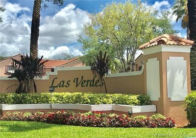 Pembroke Pines Condo For Sale: 401 SW 158th Ter #101