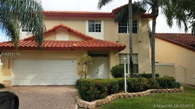 Doral Single Family Home For Sale: 10603 NW 57th St